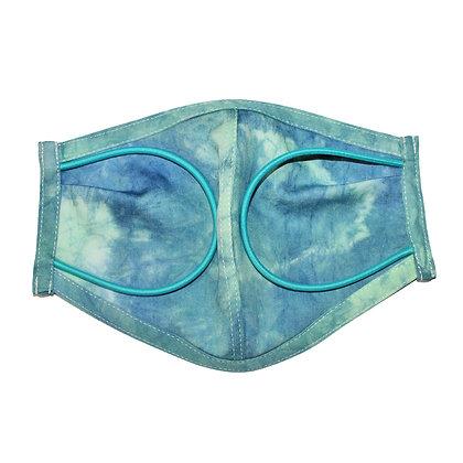 Tie dye 2 color 3D Mask GR  Size M
