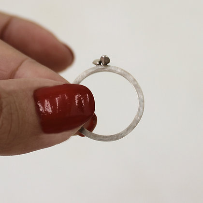 Silver stone Ring 2