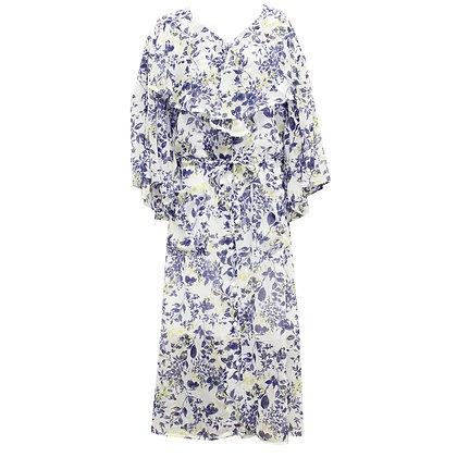 Ruffle collar flower Dress