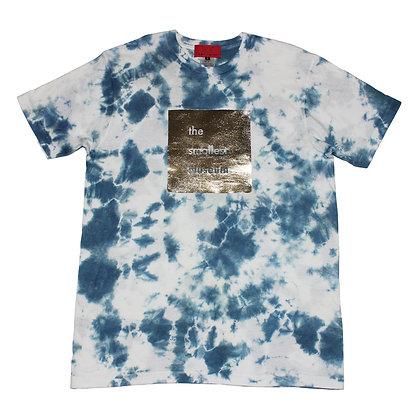Indigo tie dye cotton Tee size 2