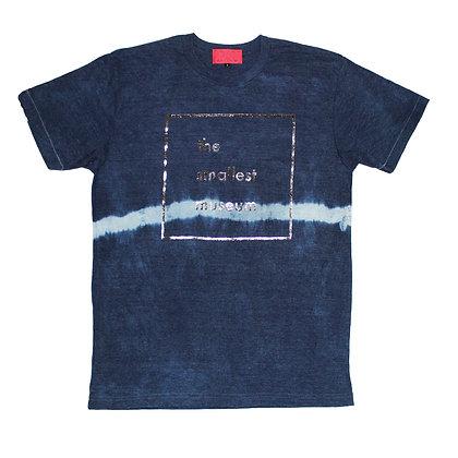 Indigo dye line rayon Tee size 1 FP