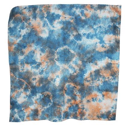 Tie dye 2 color Scarf