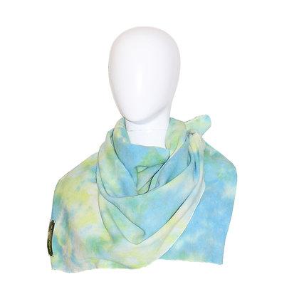 Tie dye 3 color wool Stole GR