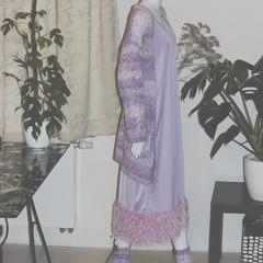 Indian fringe camisole Dress