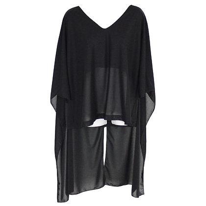 Kimono sleeves big TEE  BK Size 0