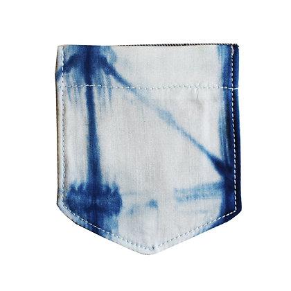 Indigo dye Coaster