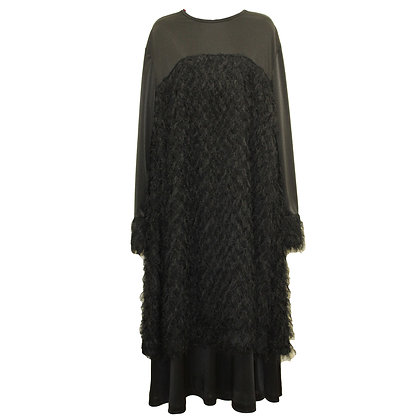 Indian fringe layered Dress