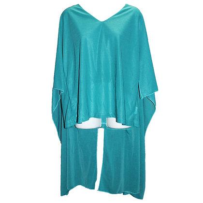 Kimono sleeves big TEE  Green Size 1