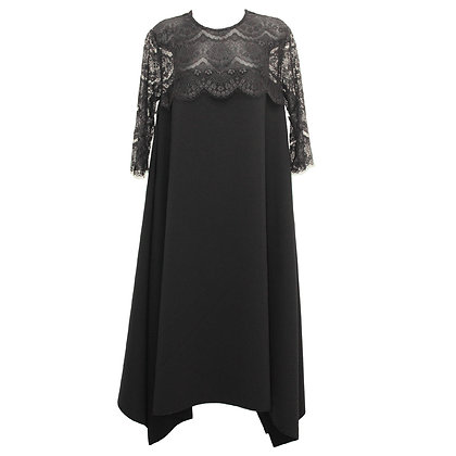 Scallop lace lady Dress