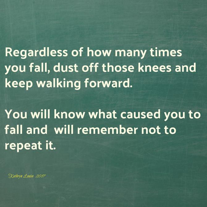 Falling is learning.........