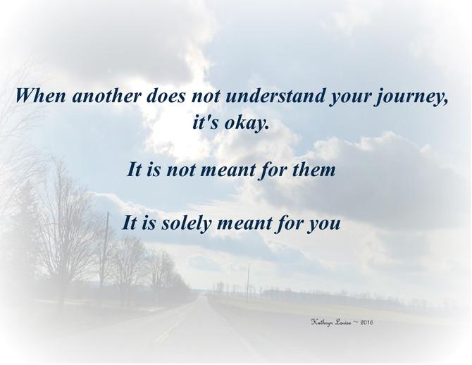 It's your journey