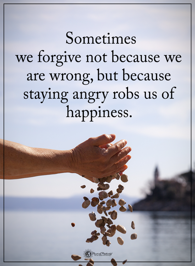 Forgiveness...............