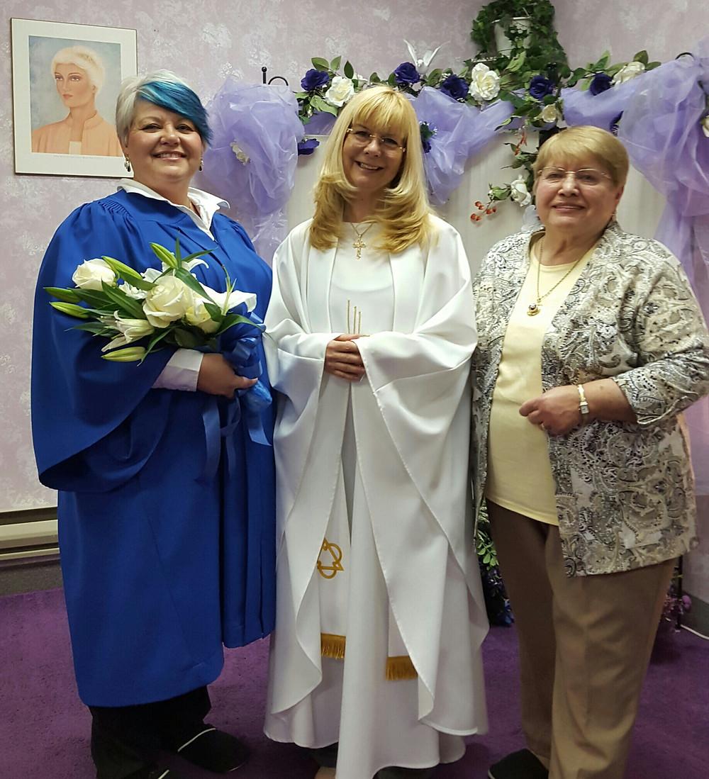 Rev. Diane Pearson, Mom & Me!