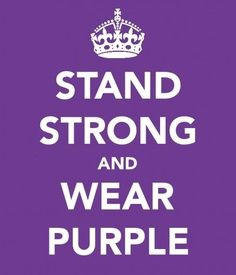 Wear Purple and Support Those Battling Pancreatic Cancer!