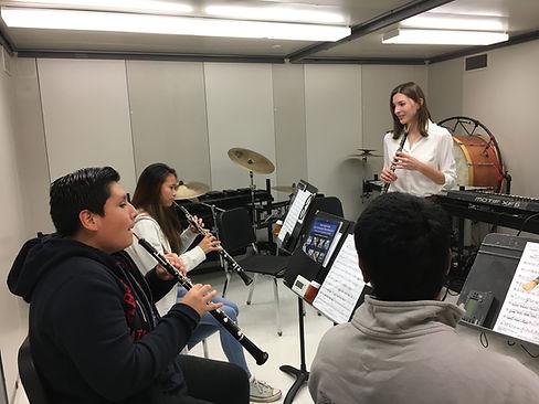 Erin Banholzer, oboe lessons