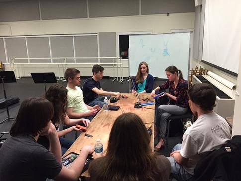 Rutgers University Bassoon Studio Class