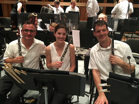 Britt Music and Arts Festival Oboe Section