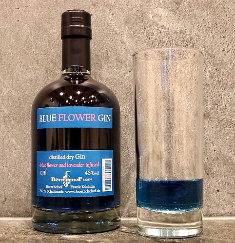 """Gin """"Blue Flower""""  45%    0.50ltr"""