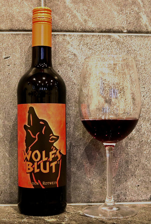 """Wolfsblut"" Rotwein-Cuvée Halbtrocken  0,75ltr"