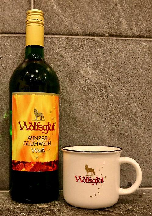 """""""Wolfsglut"""" Weisser Winzerglühwein 1.00ltr"""