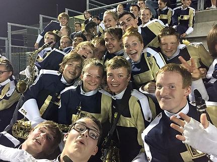 Band Students in Hillsboro .JPG