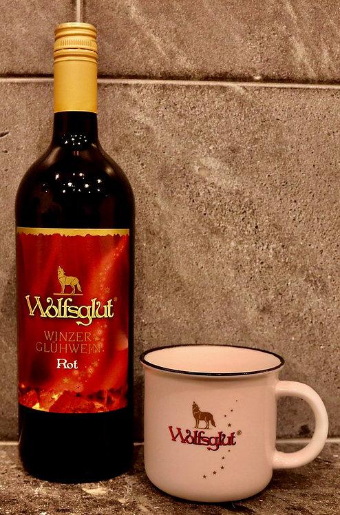 """""""Wolfsglut"""" Roter Winzerglühwein 1.00ltr"""