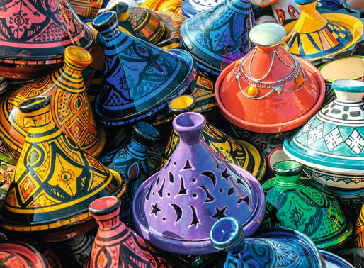 The Dazzling Moroccan Art