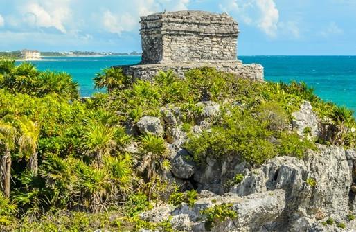 The Maya Ruins of the Yucatan