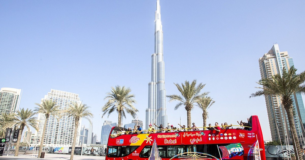 Dubai Itinerary - Hop on Hop Off Big Bus Tour