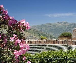 Roman Ruins in Sicily, Italy, travel Sicily