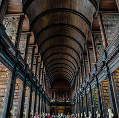 #10 The long room at Trinity College and