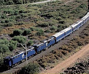 South Africa's Blue Train