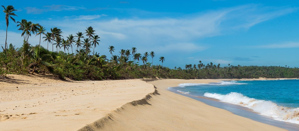 Beach in Puerto Rico