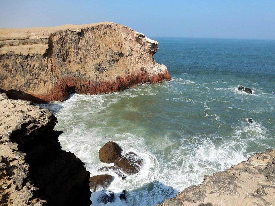 Lima Peru Coastline