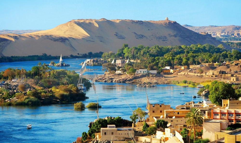 Aswan, Egypt, Nile
