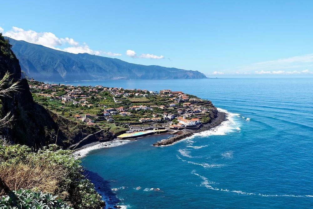 Madeira Portugal Coast Line