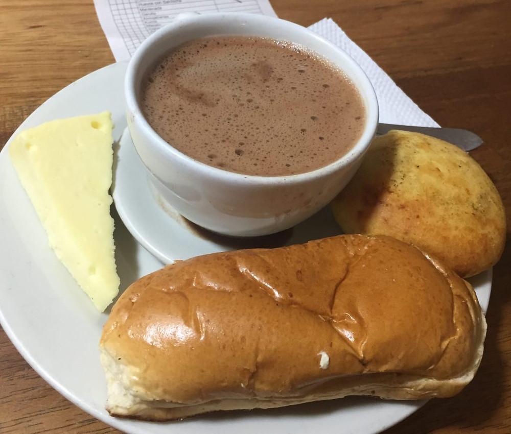 Bogotá style Breakfast