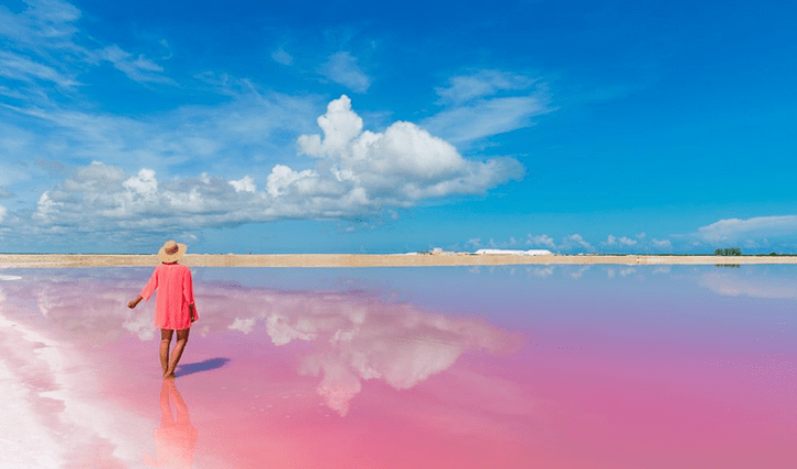 12 Exciting Things to Do in Yucatan Peninsula, Mexico - Las Coloradas Pink Lake