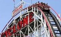 New York City Travel - Coney Island Roller Coaster New York City