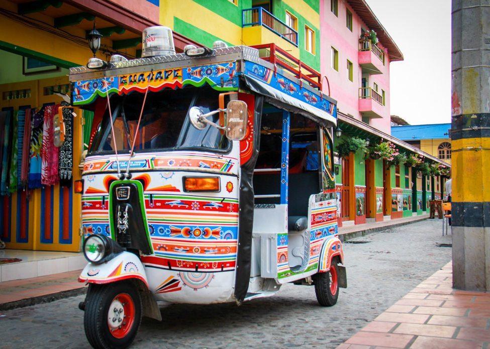 Guatape Tuk Tuk Colombia City