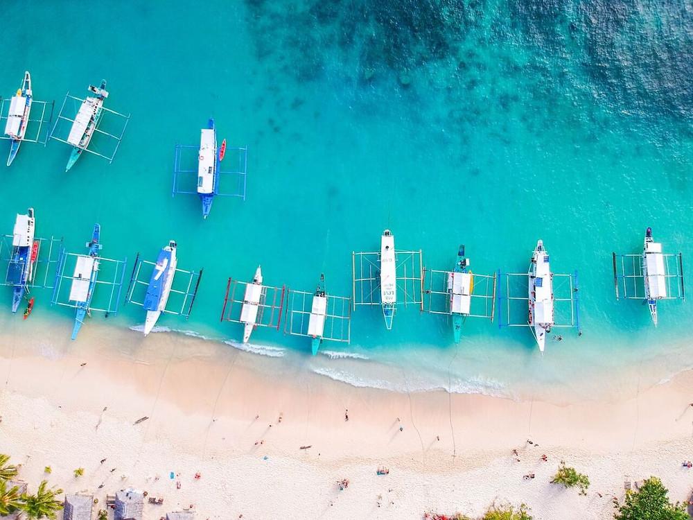 Bangka boats