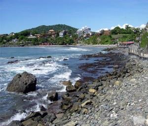 Mexico's Pacific coastline