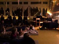 Gemütliche Lesenacht im Kindergarten Imfeld