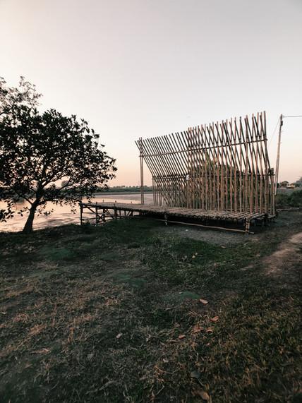竹編子    Bamboo Weave Pavilion Hong Kong