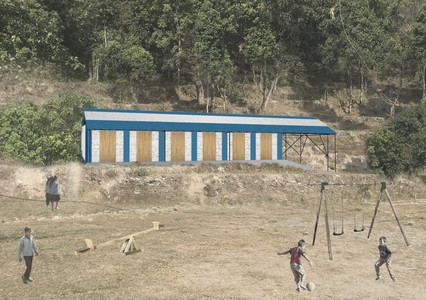 School Reconstruction Projects,  Nepal