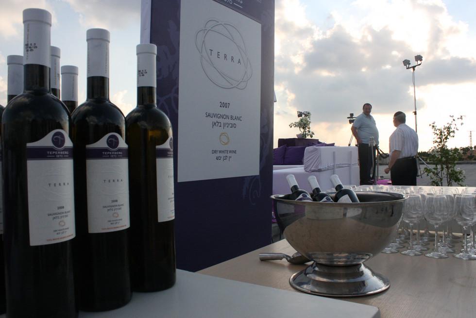 השקת יין - יקב טפרברג