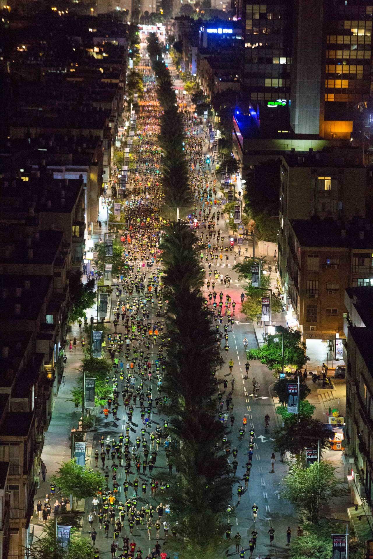 Coca-Cola zero Night Run Tel Aviv
