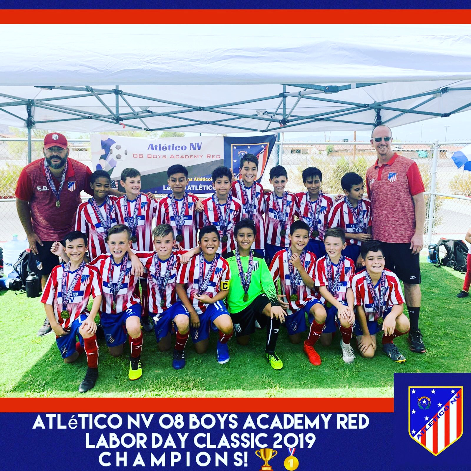2008 Boys Labor Day Champions 2019 - Cop