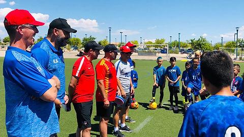 Atlético NV w/ Atlético de Madrid Youth Academy Coaches