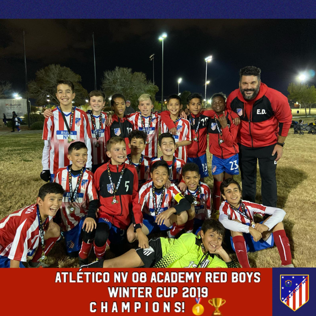 Atletico NV 2008 Winter Cup Champions